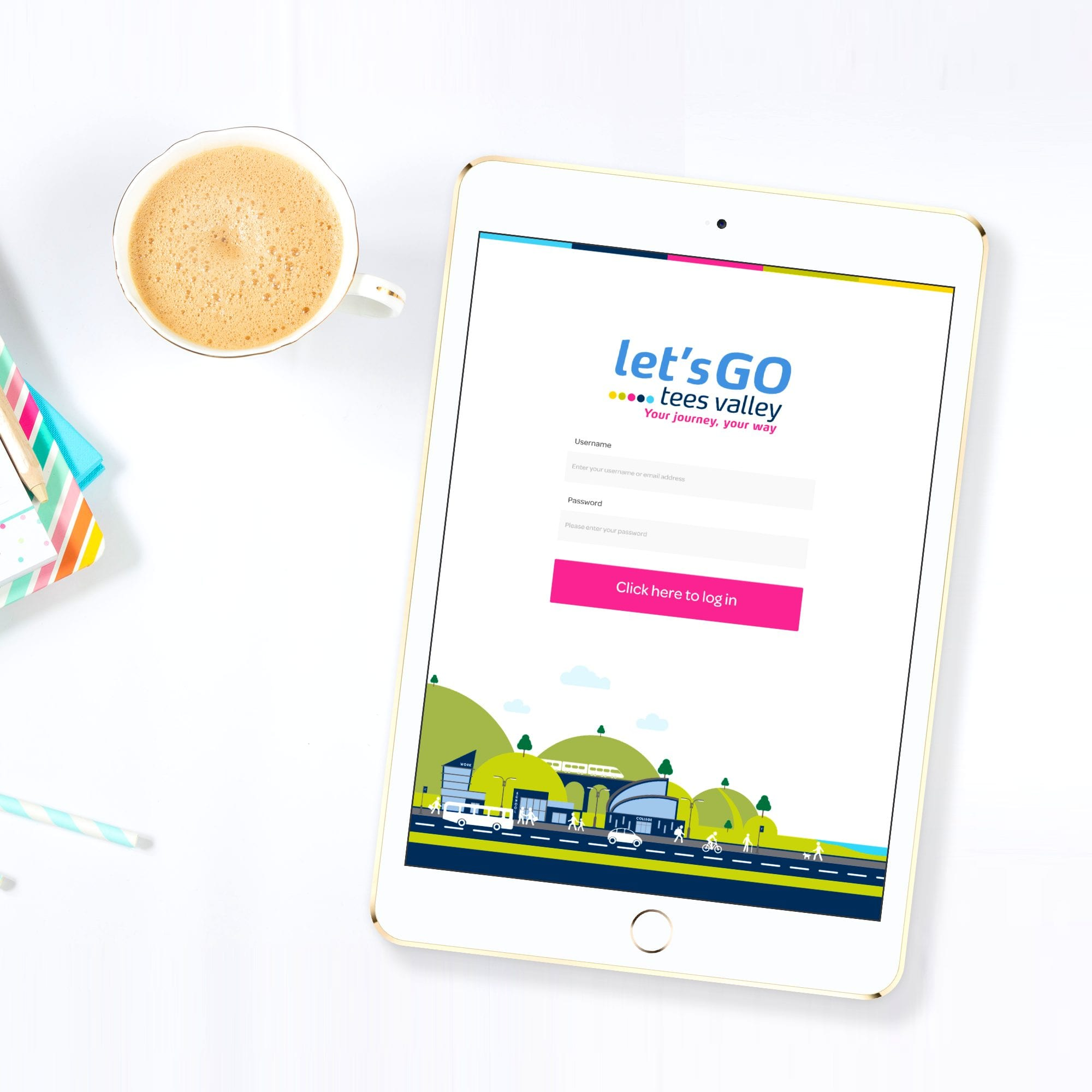 Let's Go Tees Valley | App Development | Hush Digital