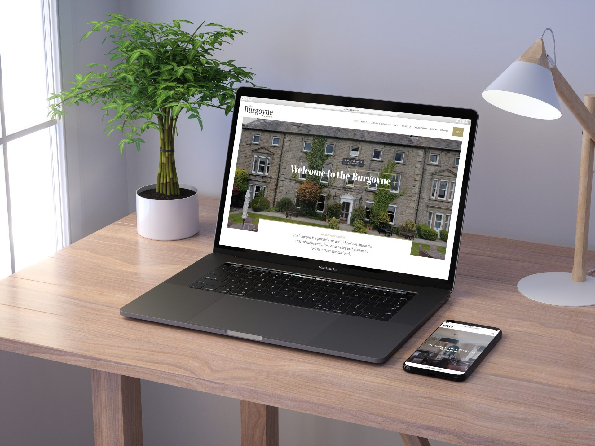 The Burgoyne l Hush Digital | Web Design Darlington