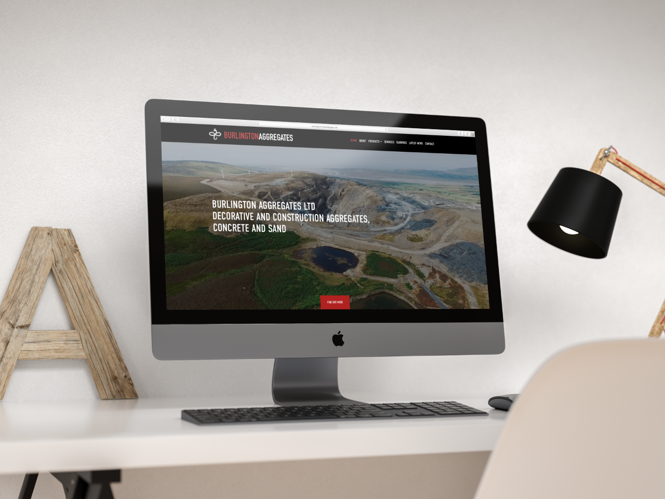 Burlington Aggregates | Hush Digital | Website Design Darlington