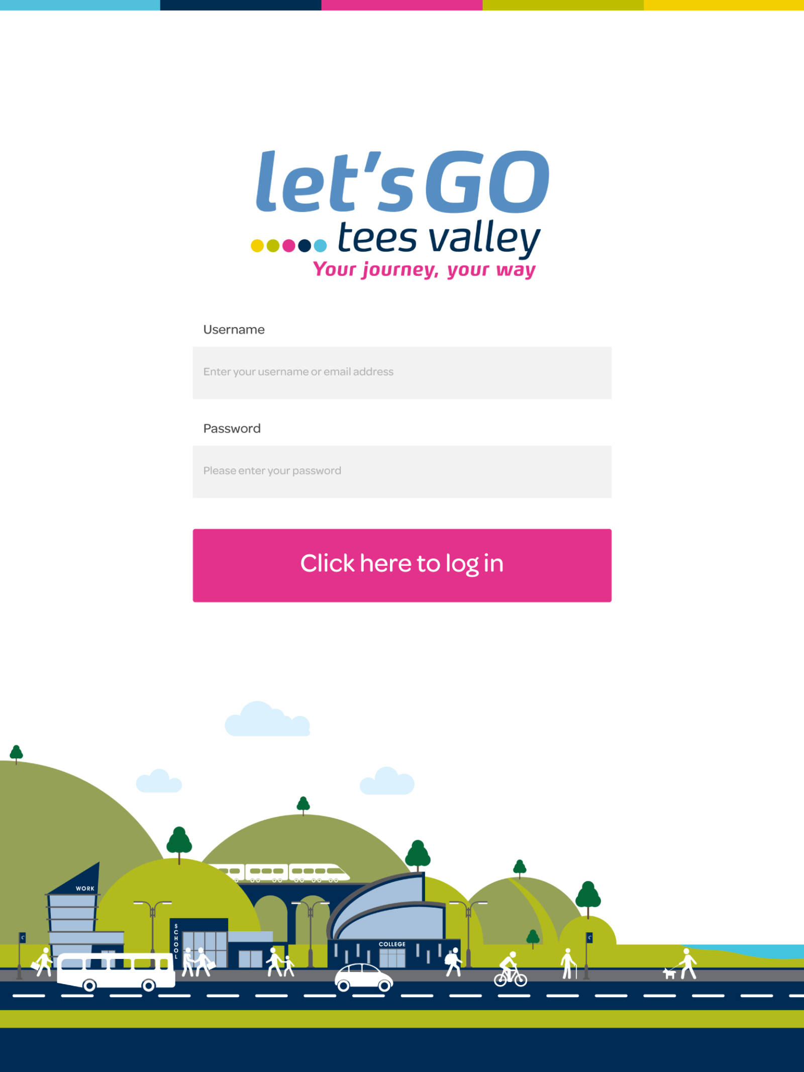 Let's Go Tees Valley | Portfolio | Hush Digital