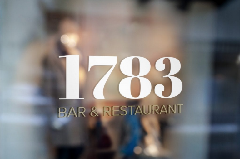 1783 Bar & Restaurant Logo Design
