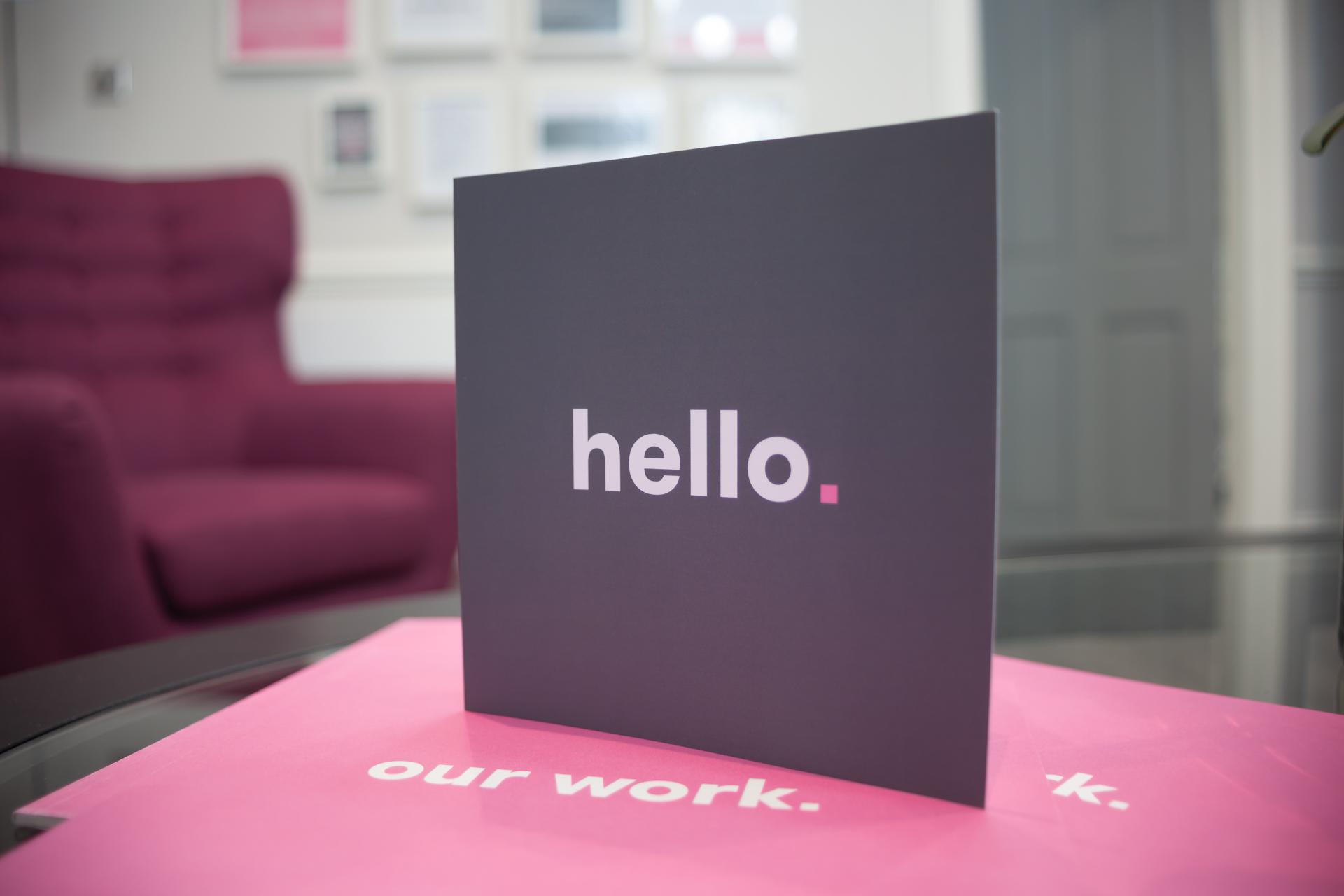 Hush Digital Greetings Card