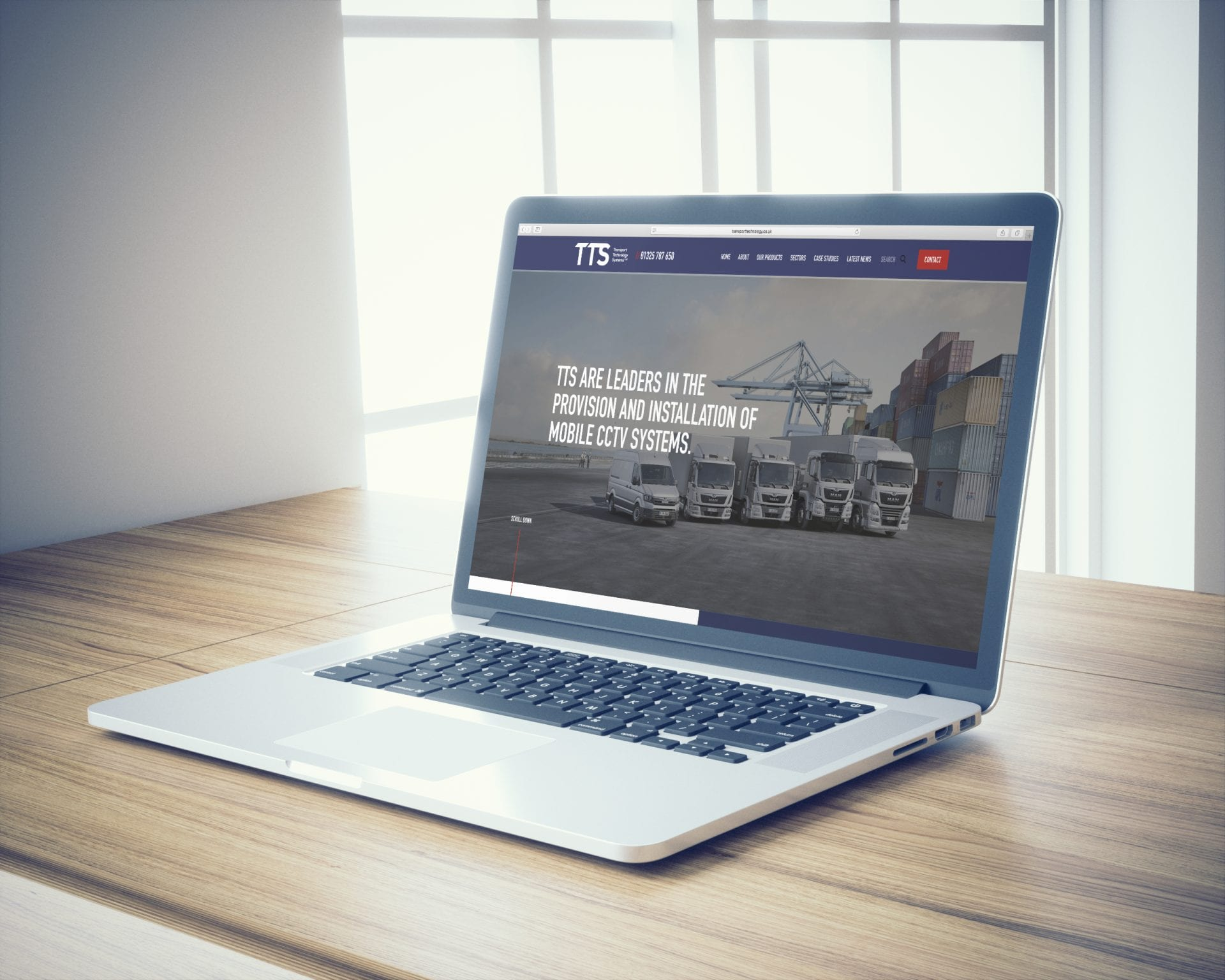 Transport Technology Systems | Portfolio | Hush Digital Web Design
