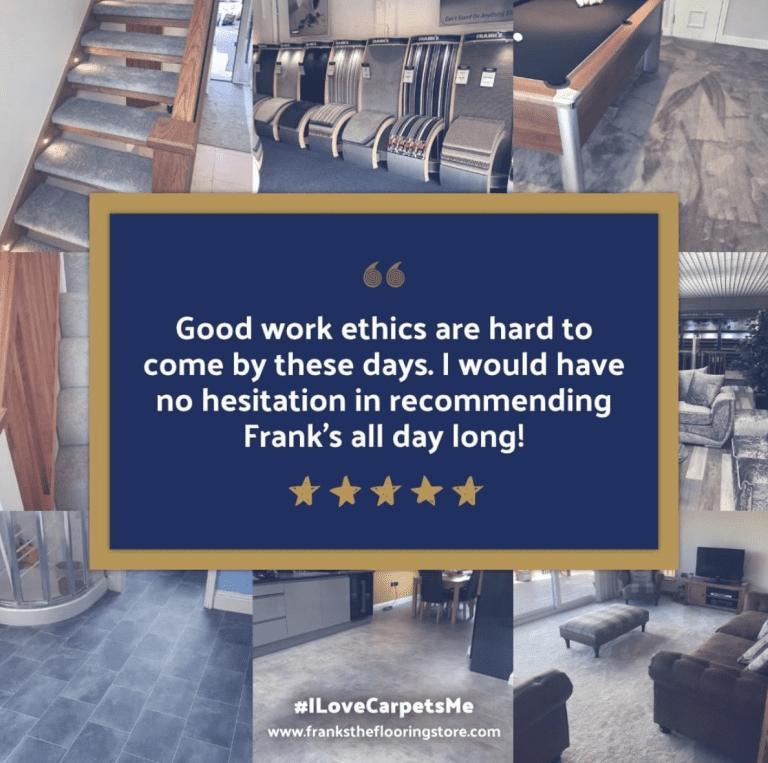 Frank's The Flooring Store Portfolio